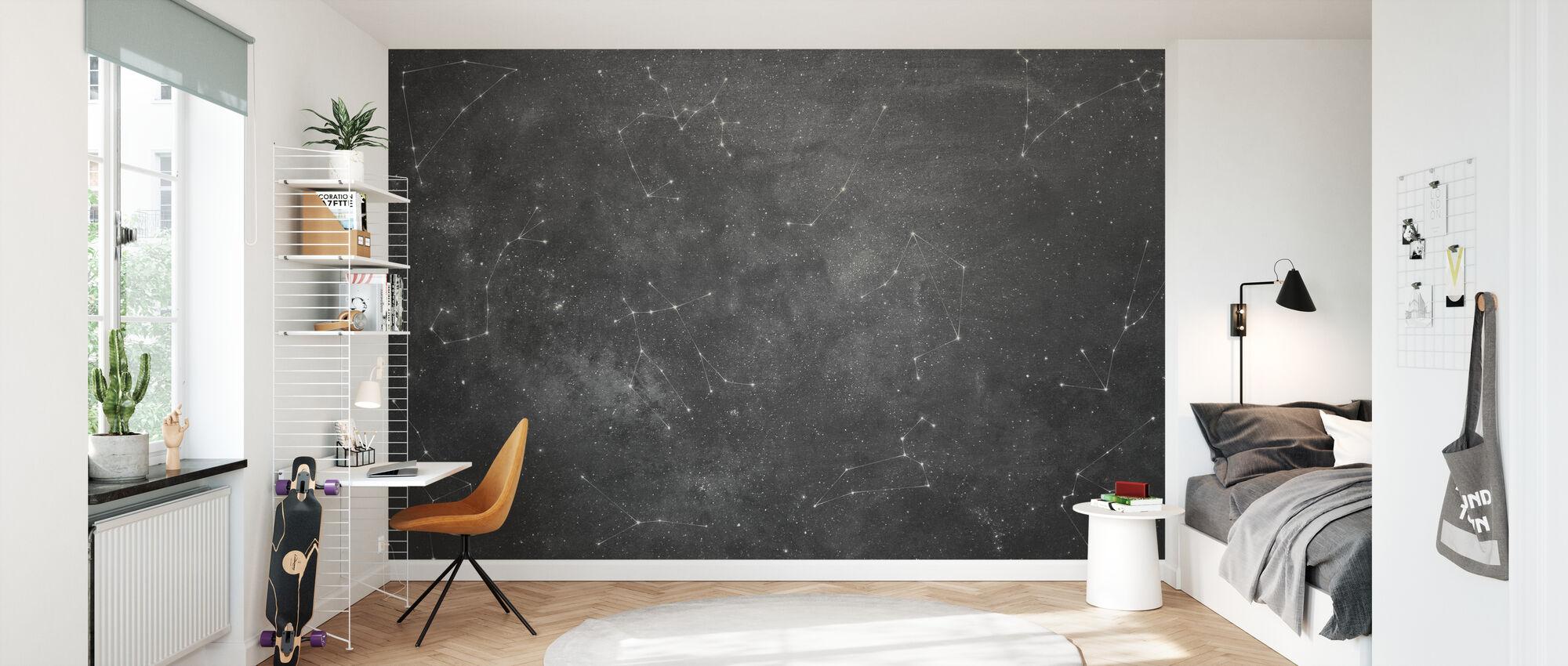 Zoodiac Sky V - Wallpaper - Kids Room