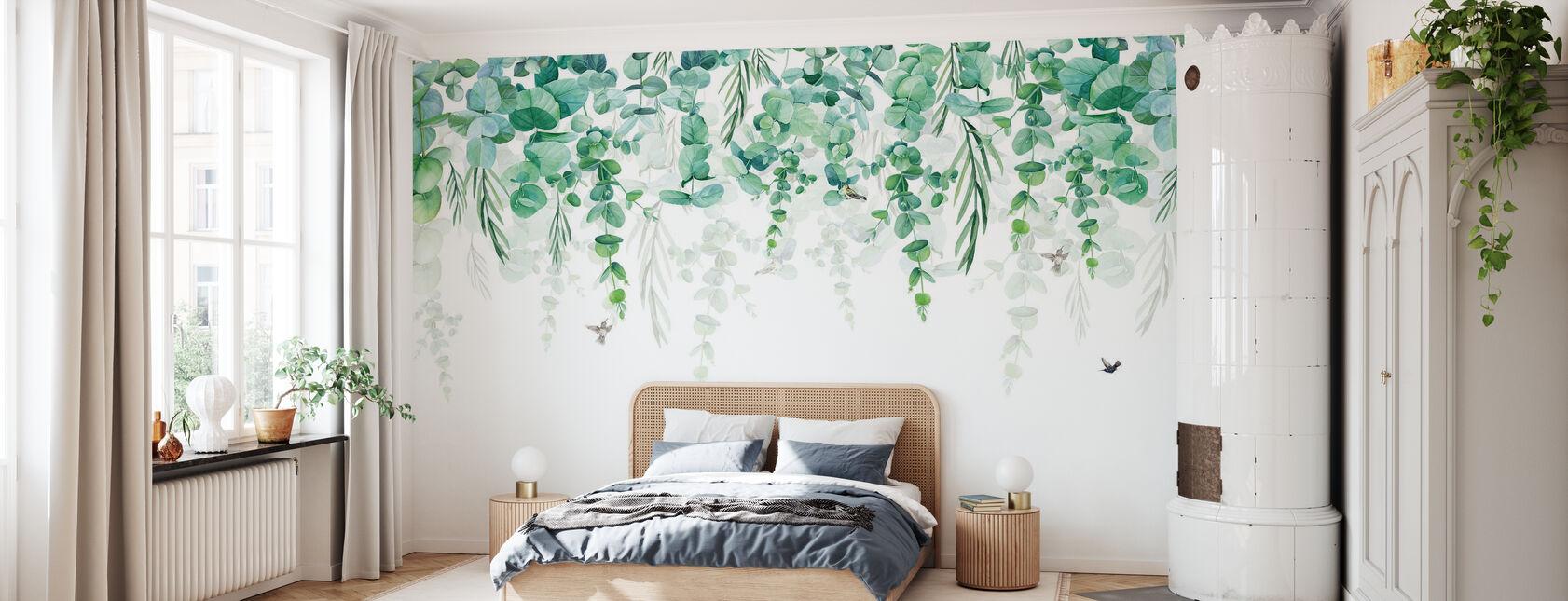 Greenery Drape - Wallpaper - Bedroom
