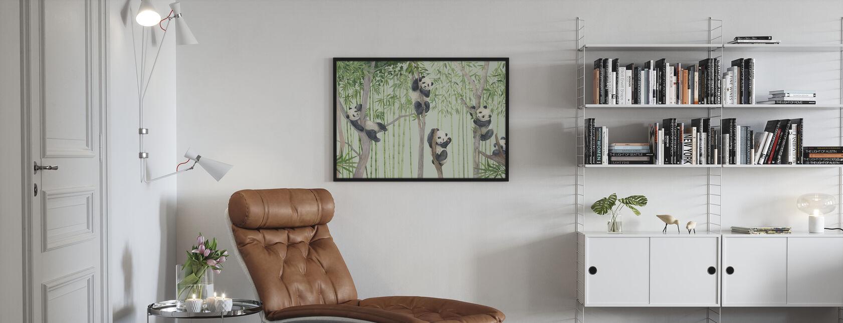 Panda Ystävät - Juliste - Olohuone
