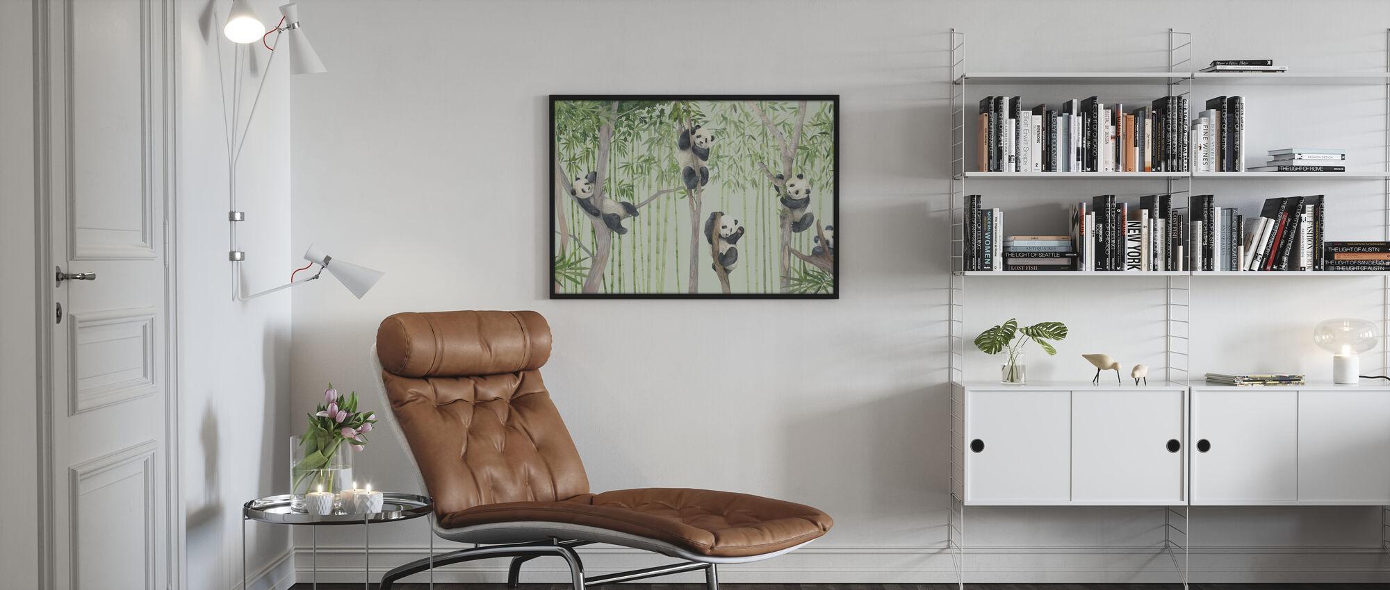 Panda Friends - Poster - Living Room