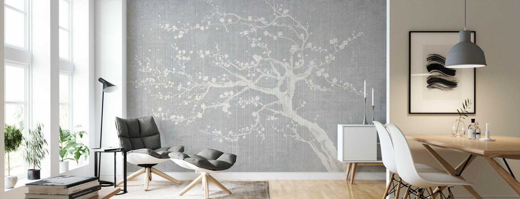 Sakura Spring II - Wallpaper - Living Room