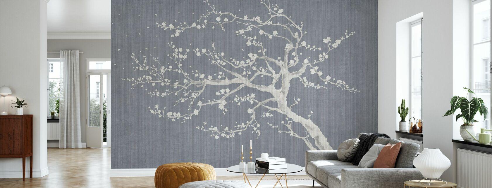 Primavera Sakura III - Papel pintado - Salón