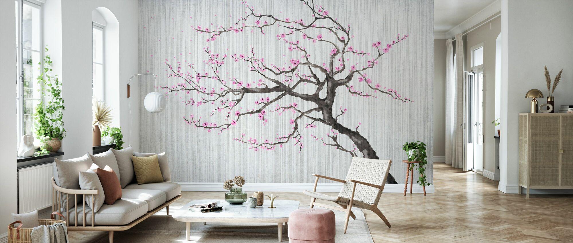 Sakura Våren X - Tapet - Stue
