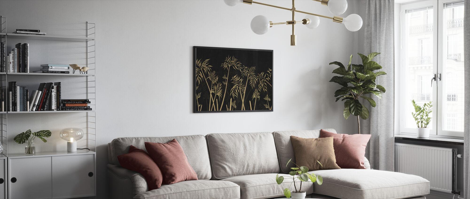 Bambus Harmony - Mørk - Plakat - Stue