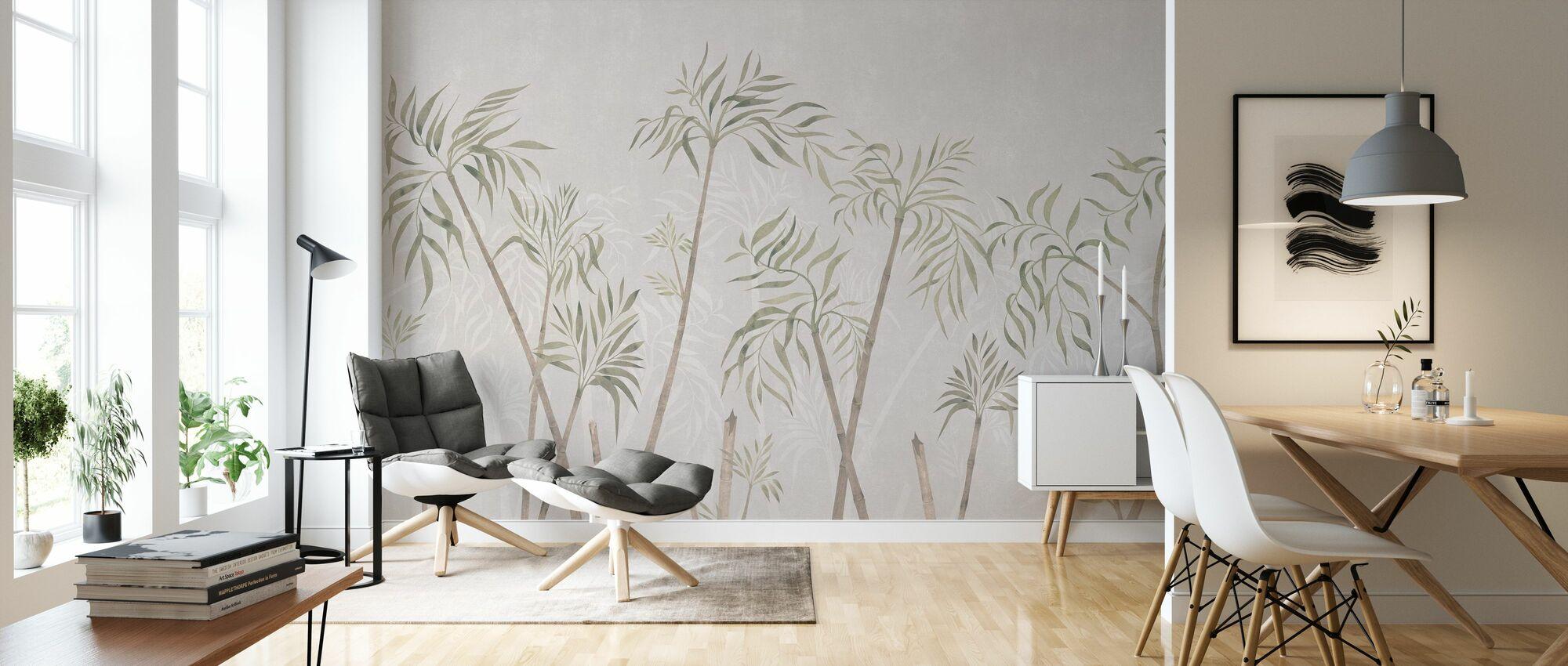 Bamboo Harmony - Nude Natur - Wallpaper - Living Room
