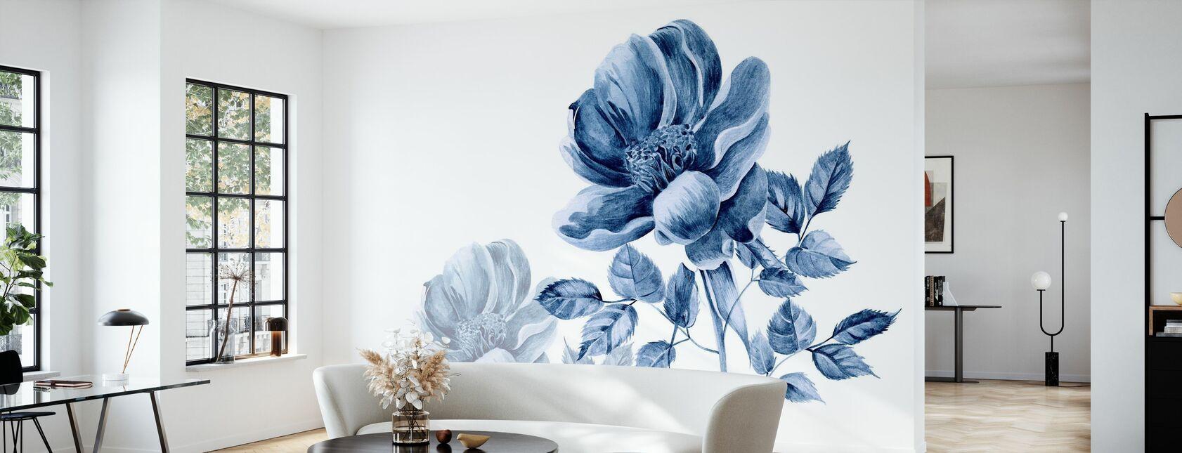 Florafou - Wallpaper - Living Room