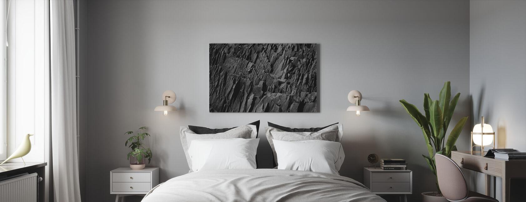 Meißel Felsen - Leinwandbild - Schlafzimmer
