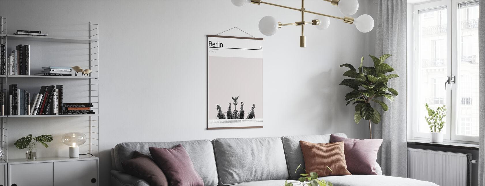 Città Berlino - Poster - Salotto