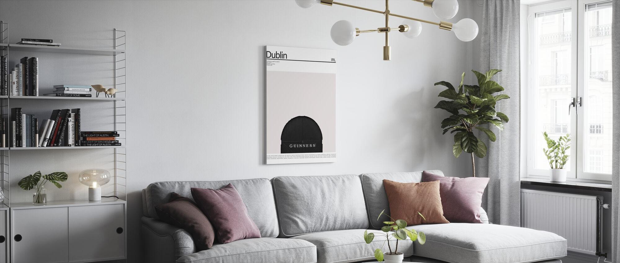 City Dublin I - Canvas print - Living Room