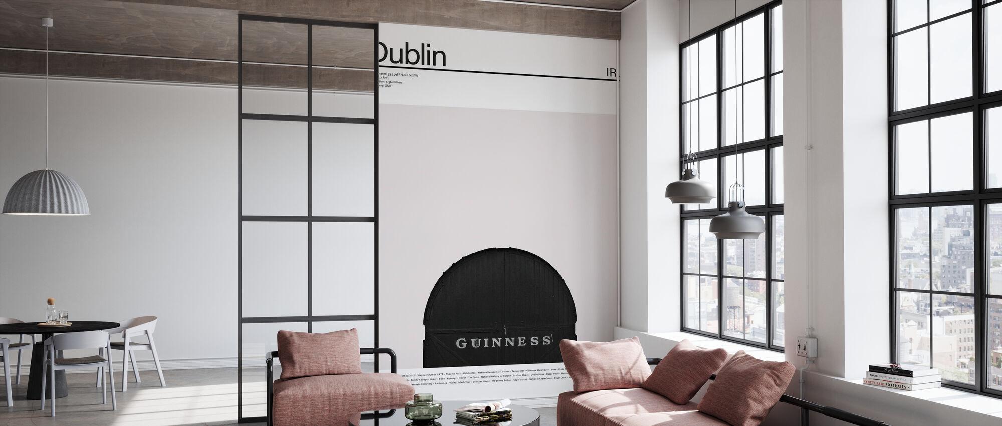Byen Dublin I - Tapet - Kontor
