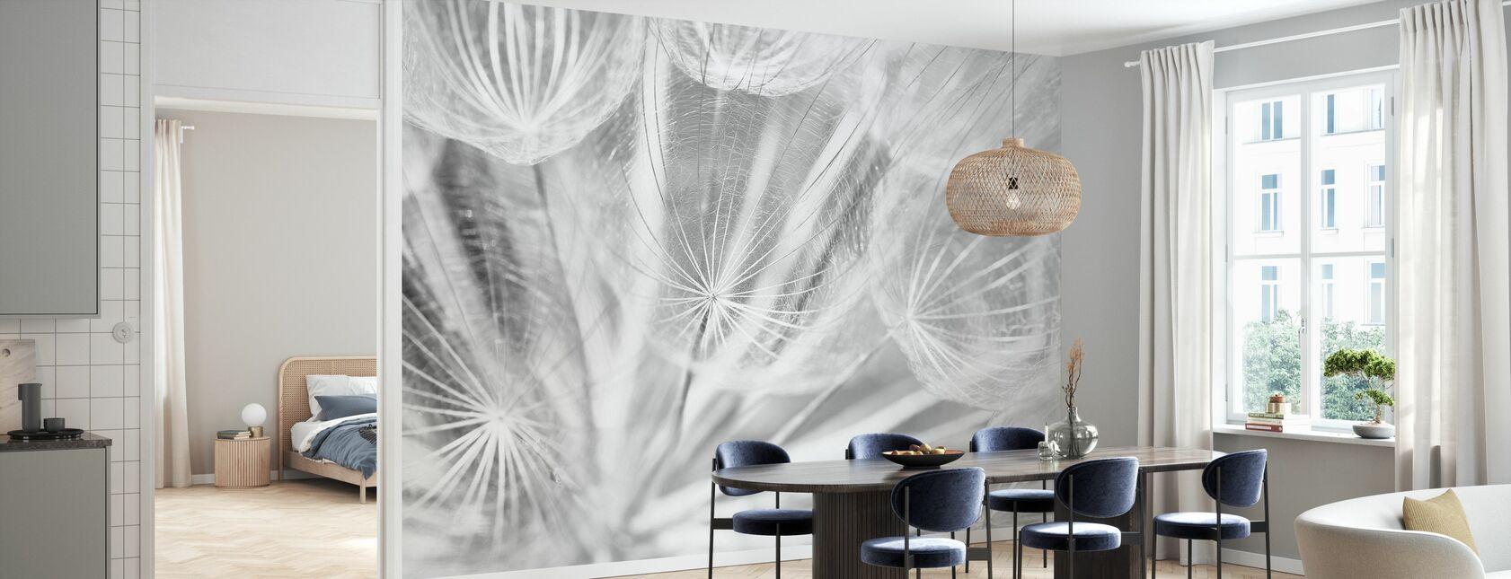 Dand Black and White - Wallpaper - Kitchen