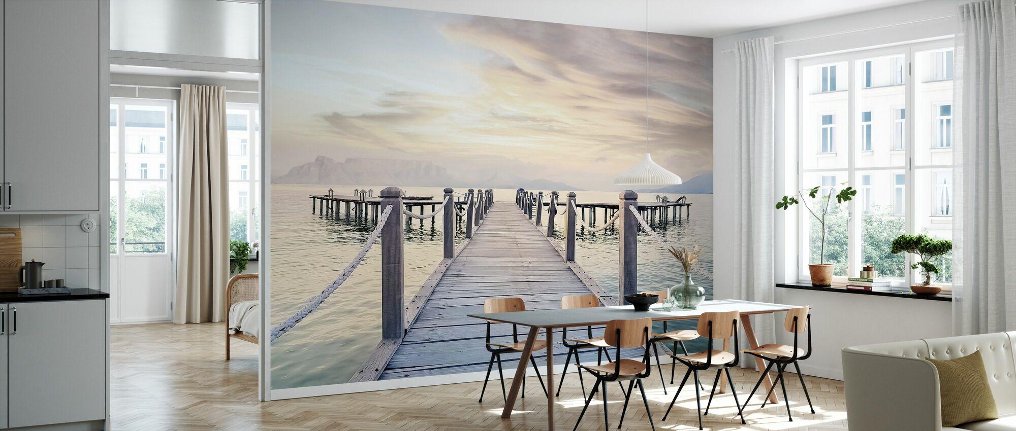 Strandpromenaden - Tapet - Kök