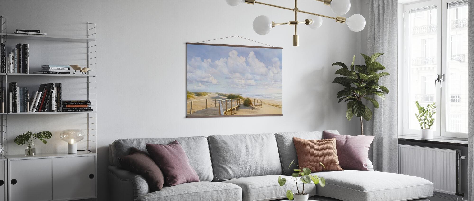 Strandpromenade - Poster - Wohnzimmer