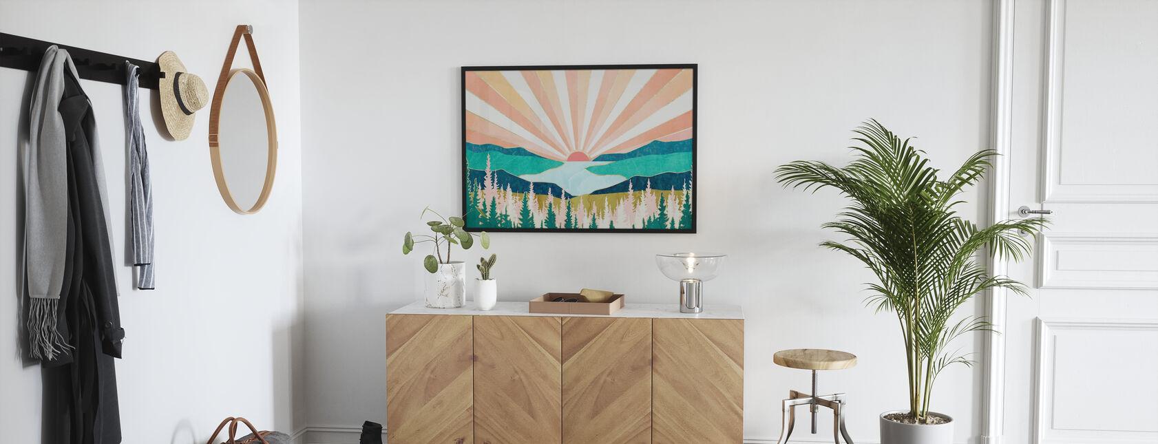 Summer Sunset - Poster - Hallway