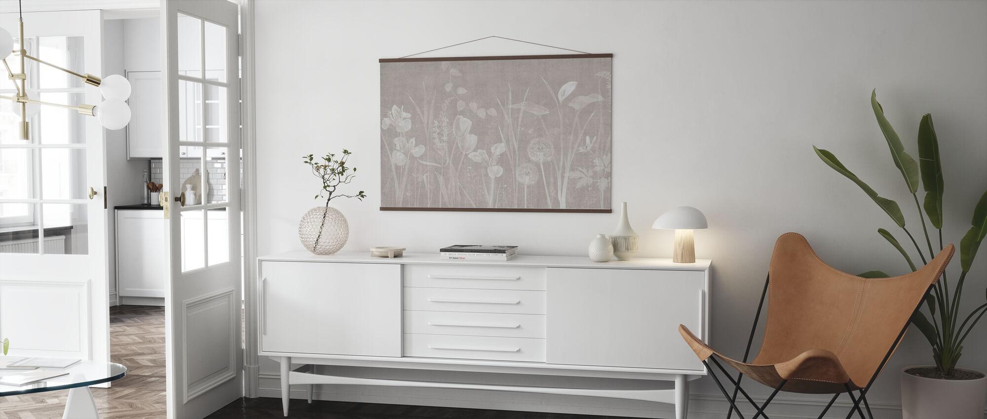 Dandelion Field - Ash Hazel - Poster - Living Room