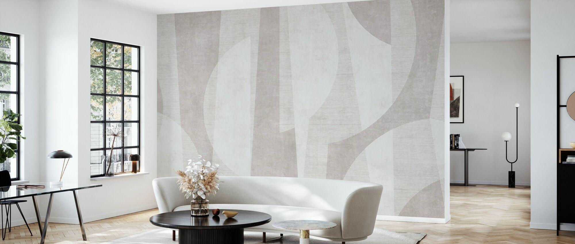 Ipanema Beach - Beige - Wallpaper - Living Room
