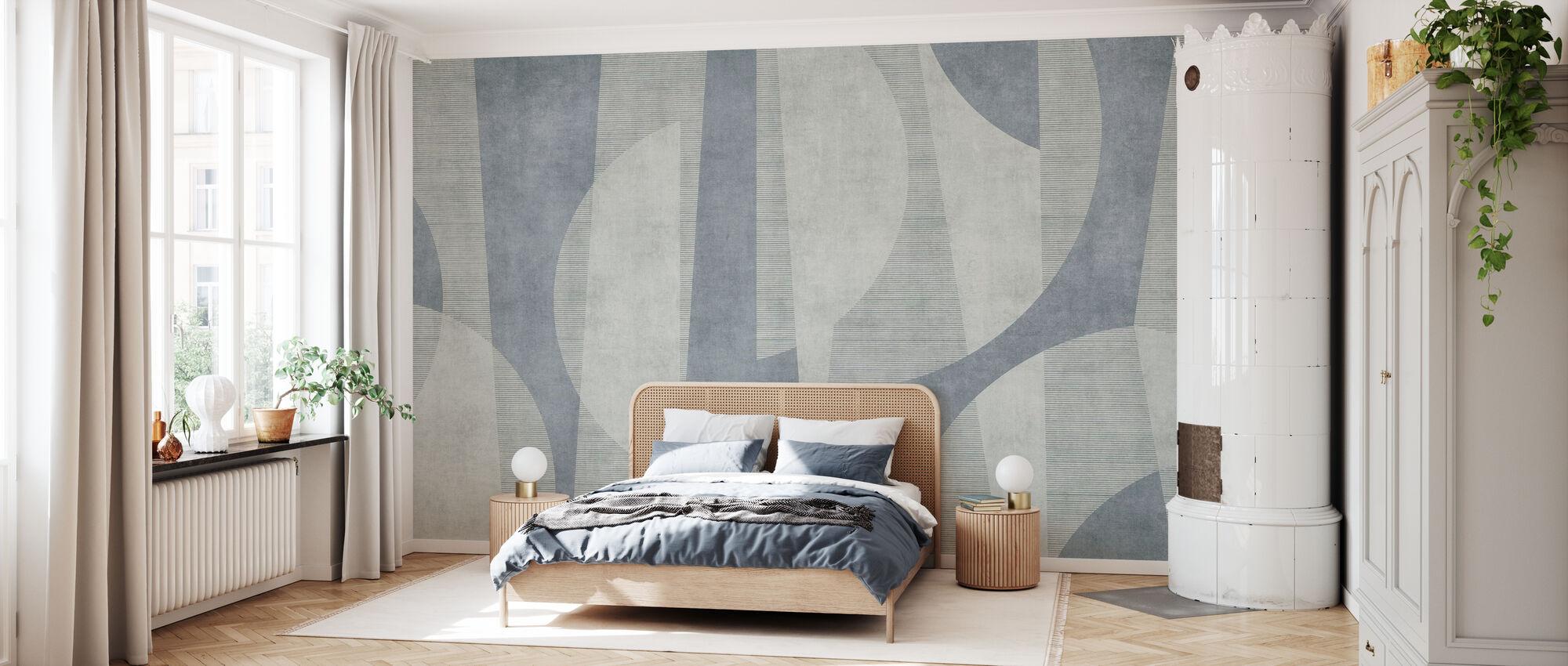 Ipanema Beach - Blue - Wallpaper - Bedroom