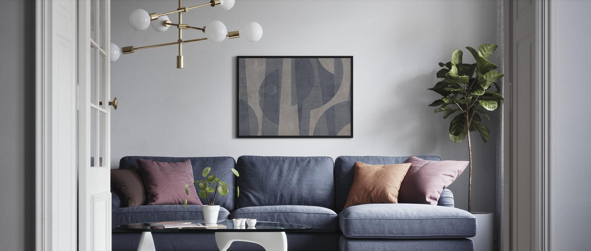 Ipanema Beach - Pigeon - Poster - Living Room