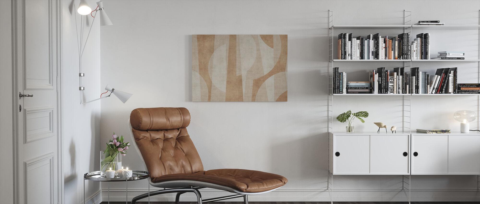 Ipanema Beach - Rust - Canvas print - Living Room