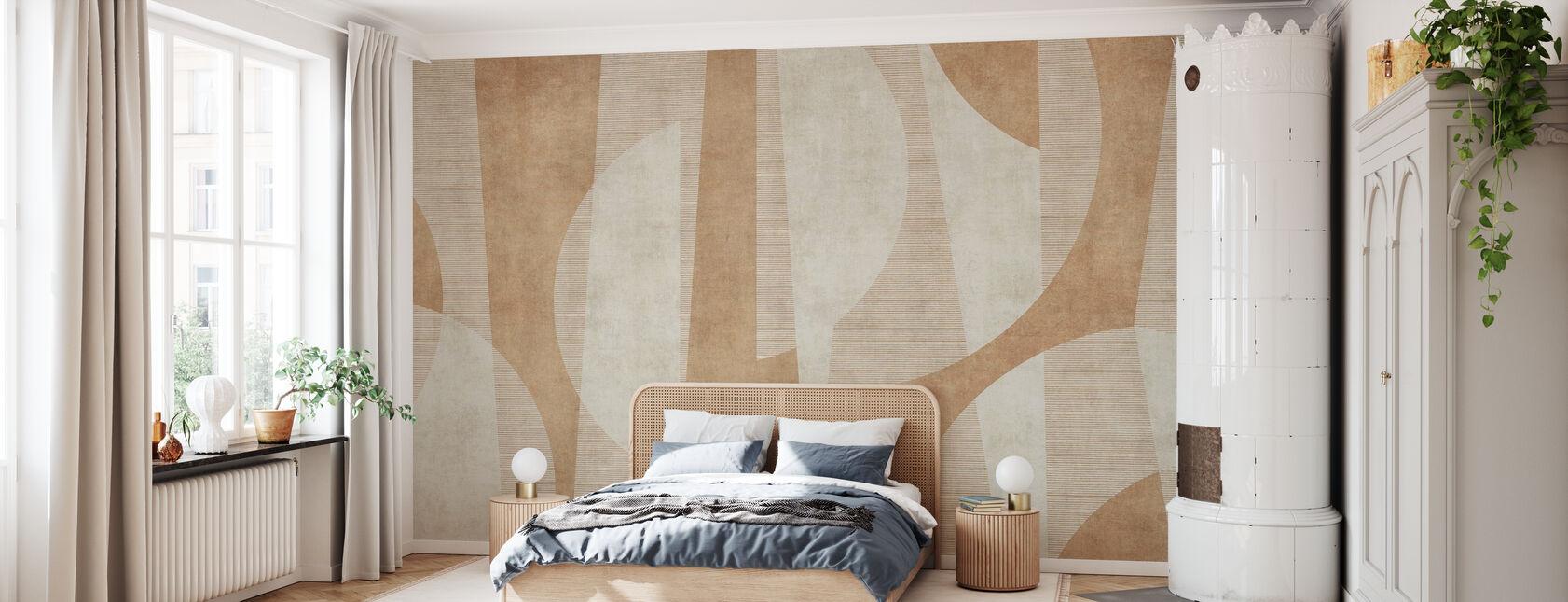 Ipanema Beach - Rust - Wallpaper - Bedroom