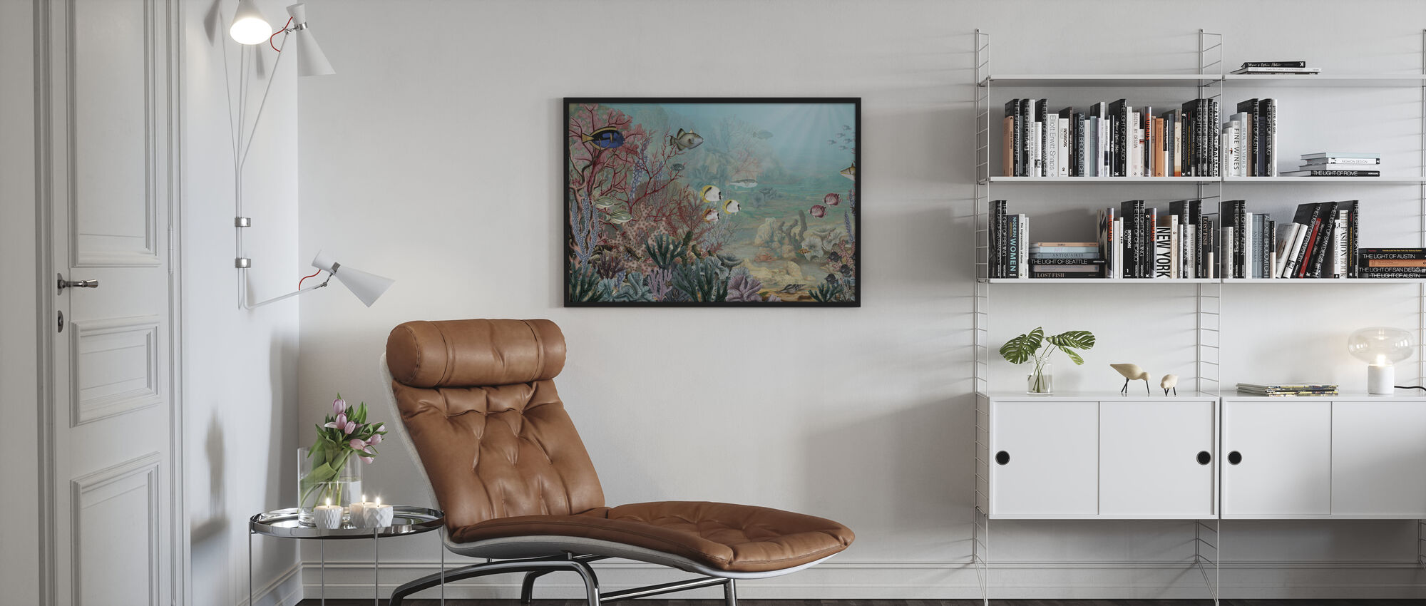 Coral Creatures - Poster - Living Room