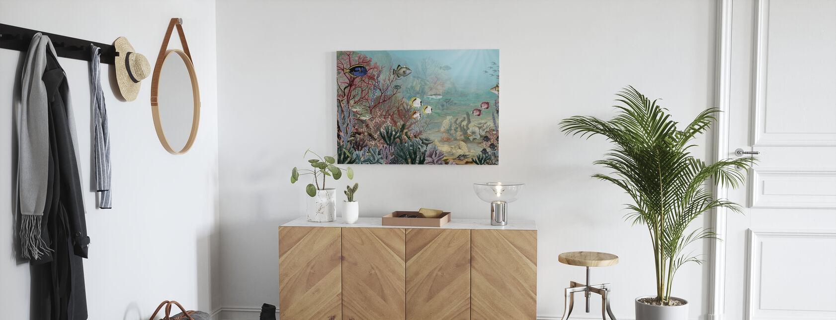Coral Creatures - Canvas print - Hallway