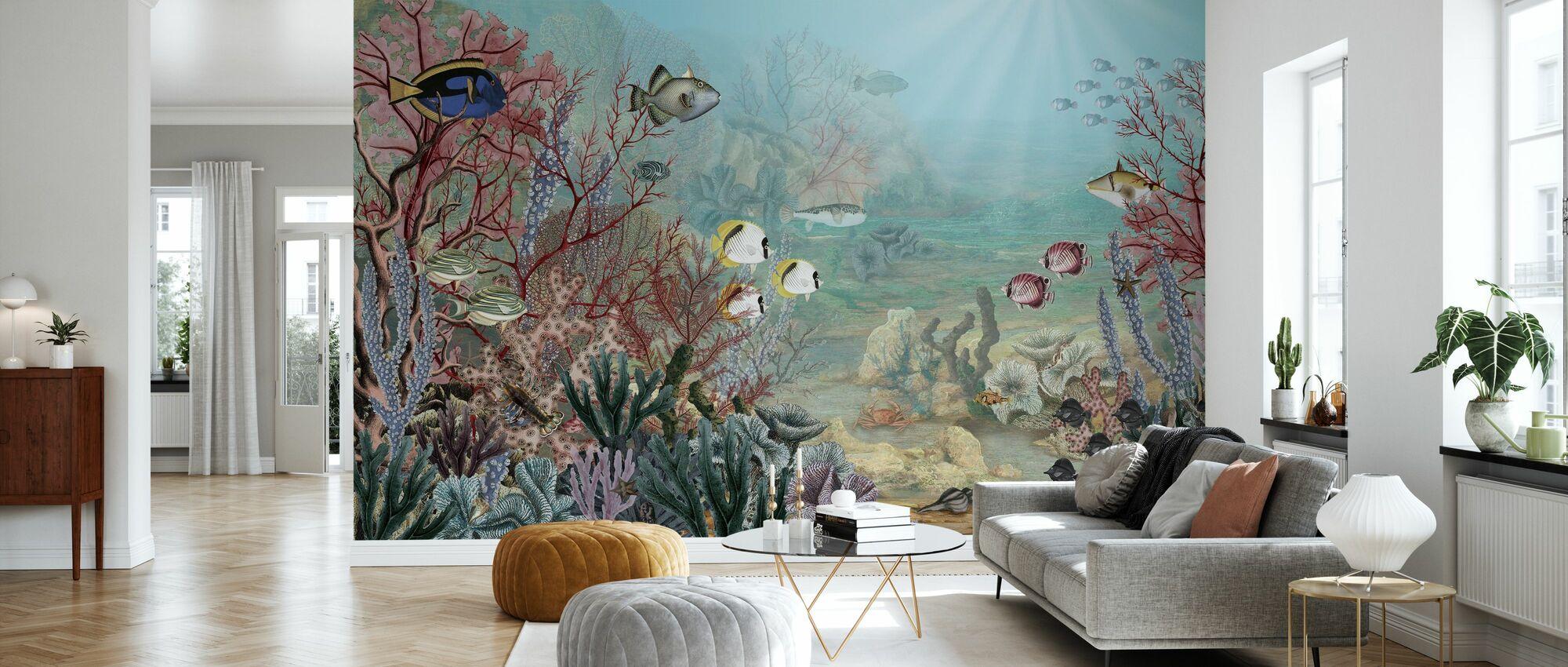 Coral Creatures - Wallpaper - Living Room