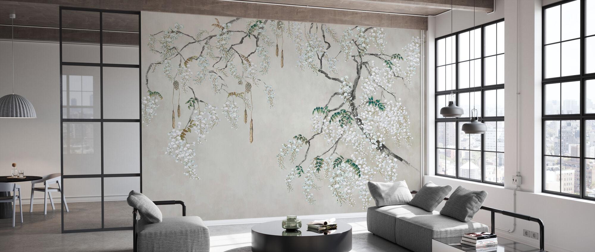 Blossom Wisteria II - Wallpaper - Office