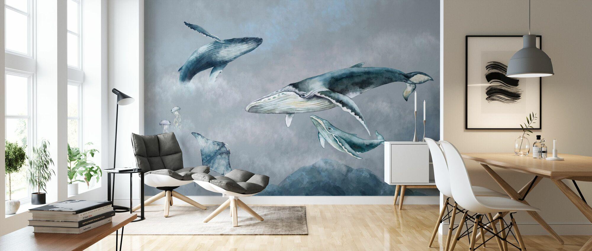 Valaiden ystävät - Tapetti - Olohuone
