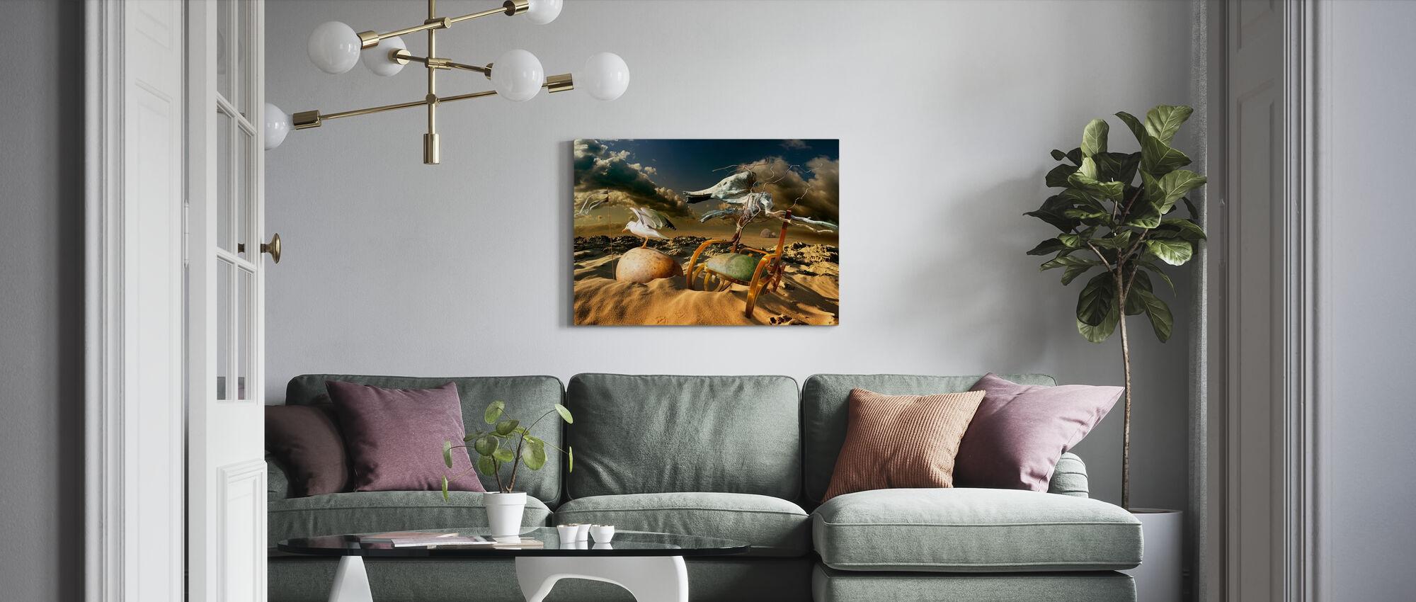 Ökenliv - Canvastavla - Vardagsrum