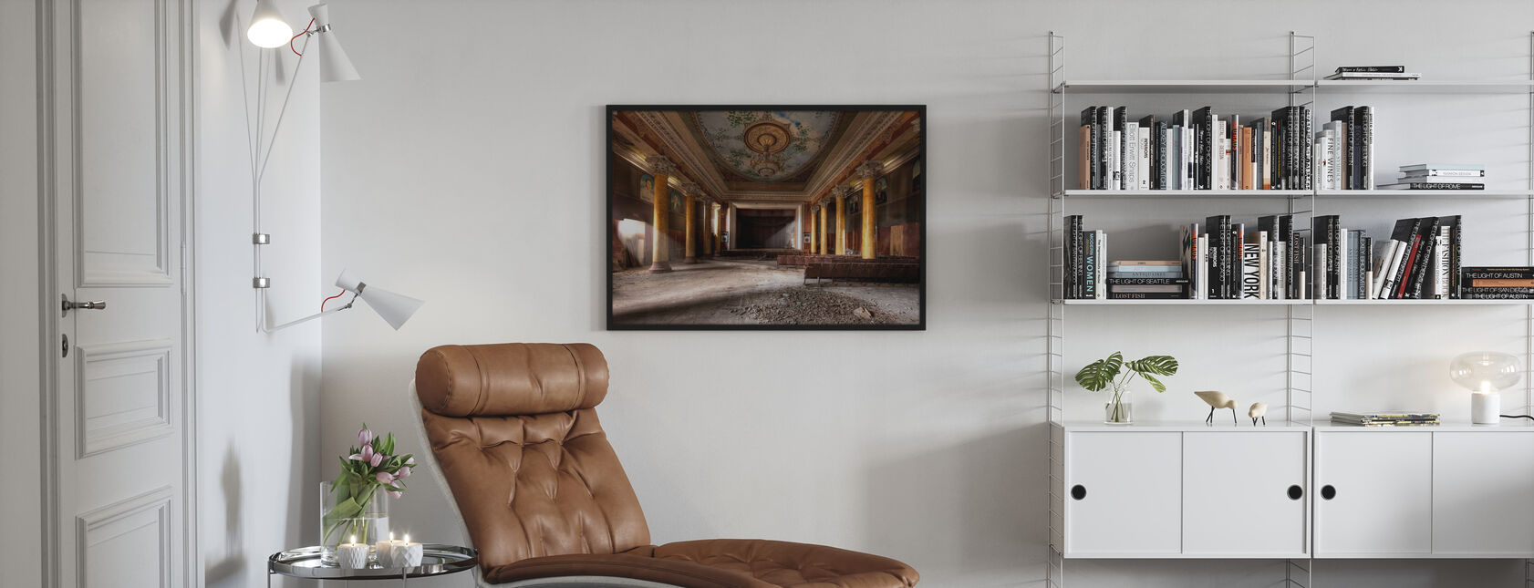 Ehemalige Herrlichkeit - Poster - Wohnzimmer