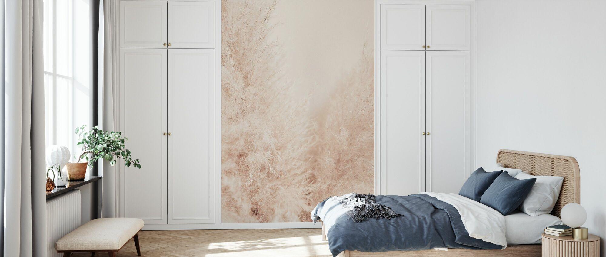 Muted Reeds - Wallpaper - Bedroom