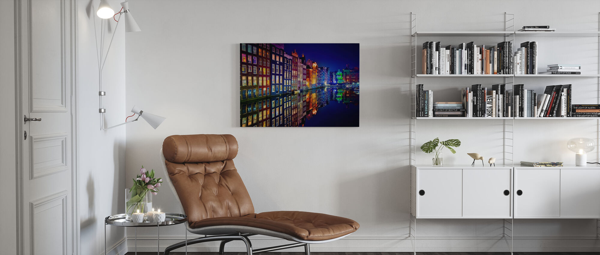 Amsterdam - Canvas print - Living Room