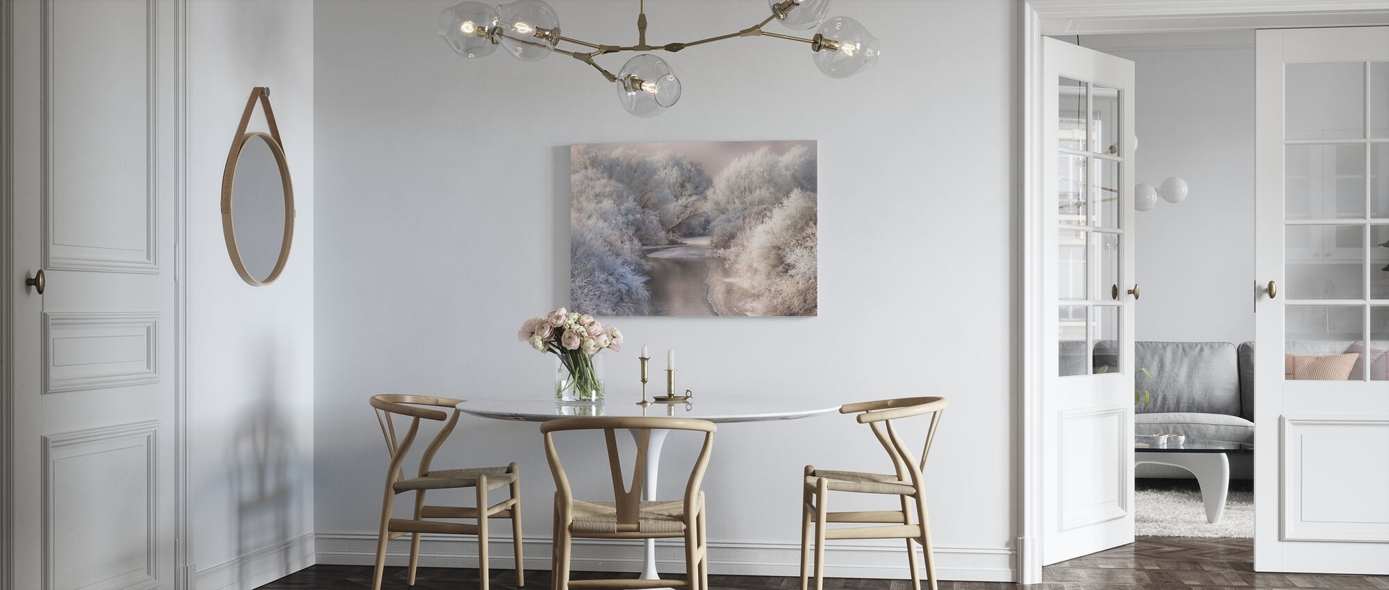 Winter Song - Canvas print - Kitchen