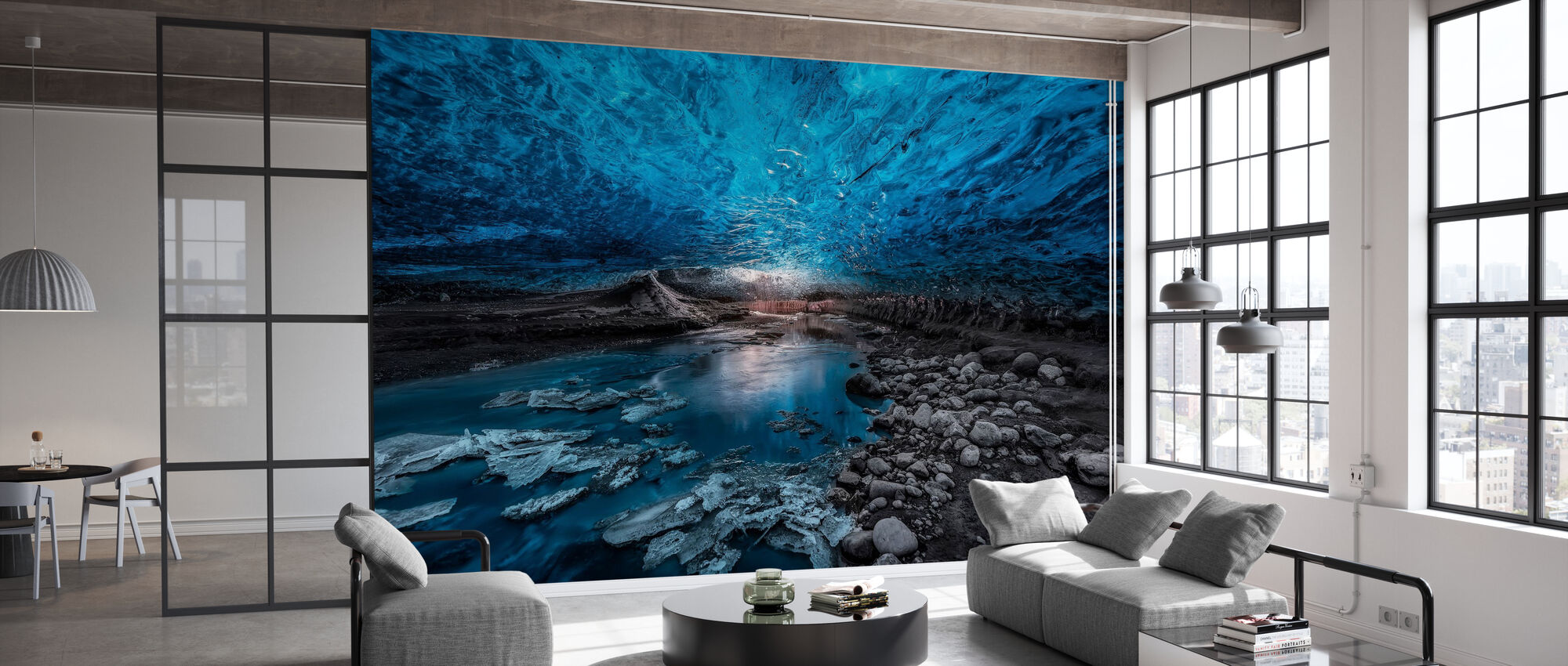 Ice Cave - Wallpaper - Office