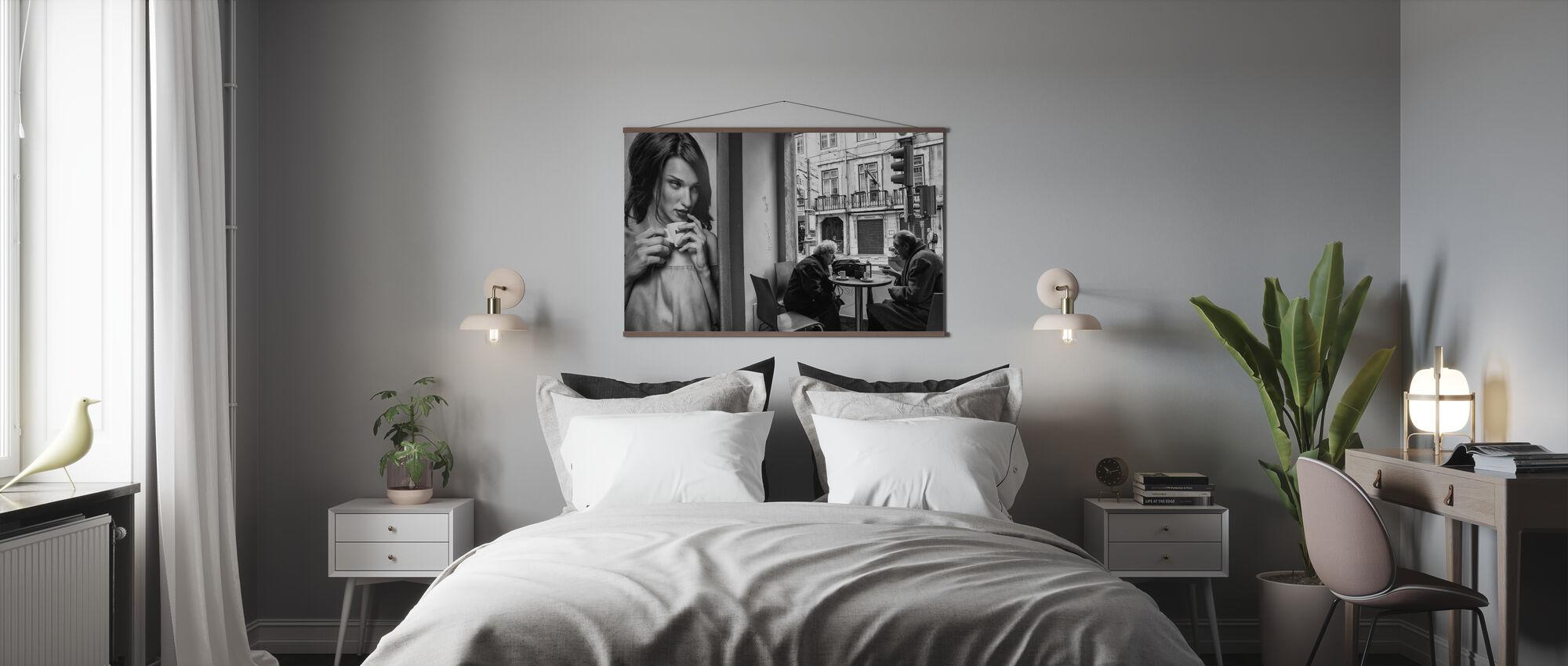 Coffee Conversations - Poster - Bedroom