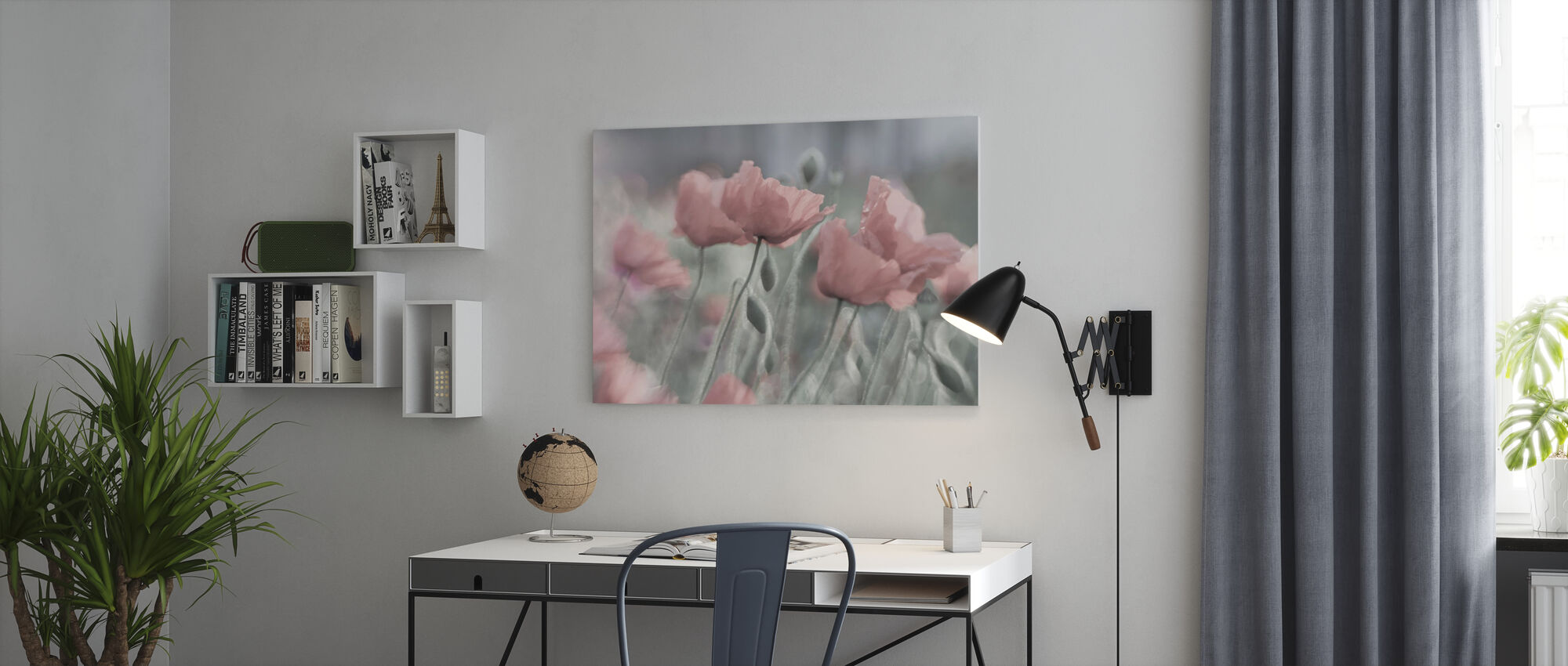 Softly - Canvas print - Office