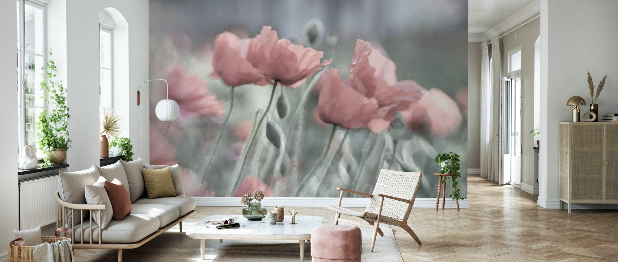 Softly - Wallpaper - Living Room