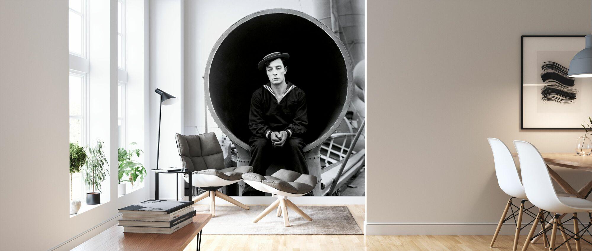 Navigator - Infographics - Wallpaper - Living Room