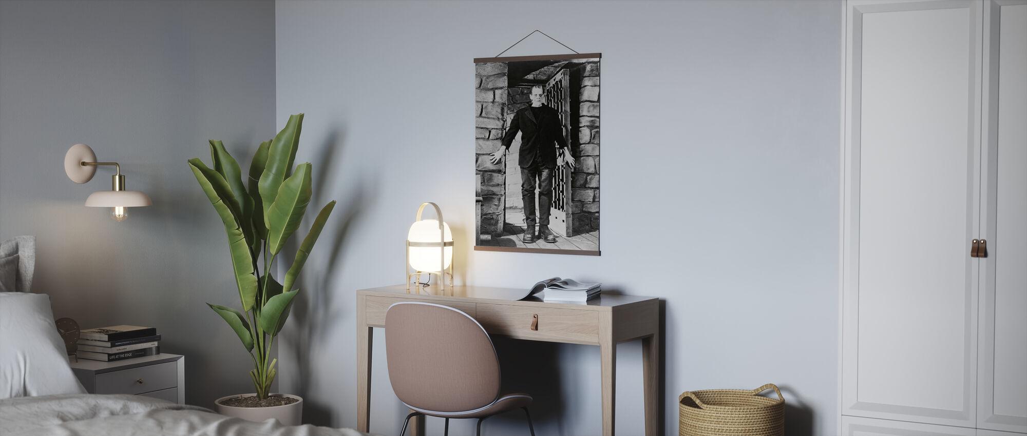 Frankenstein Frankenstein - Infographics - Poster - Kantoor
