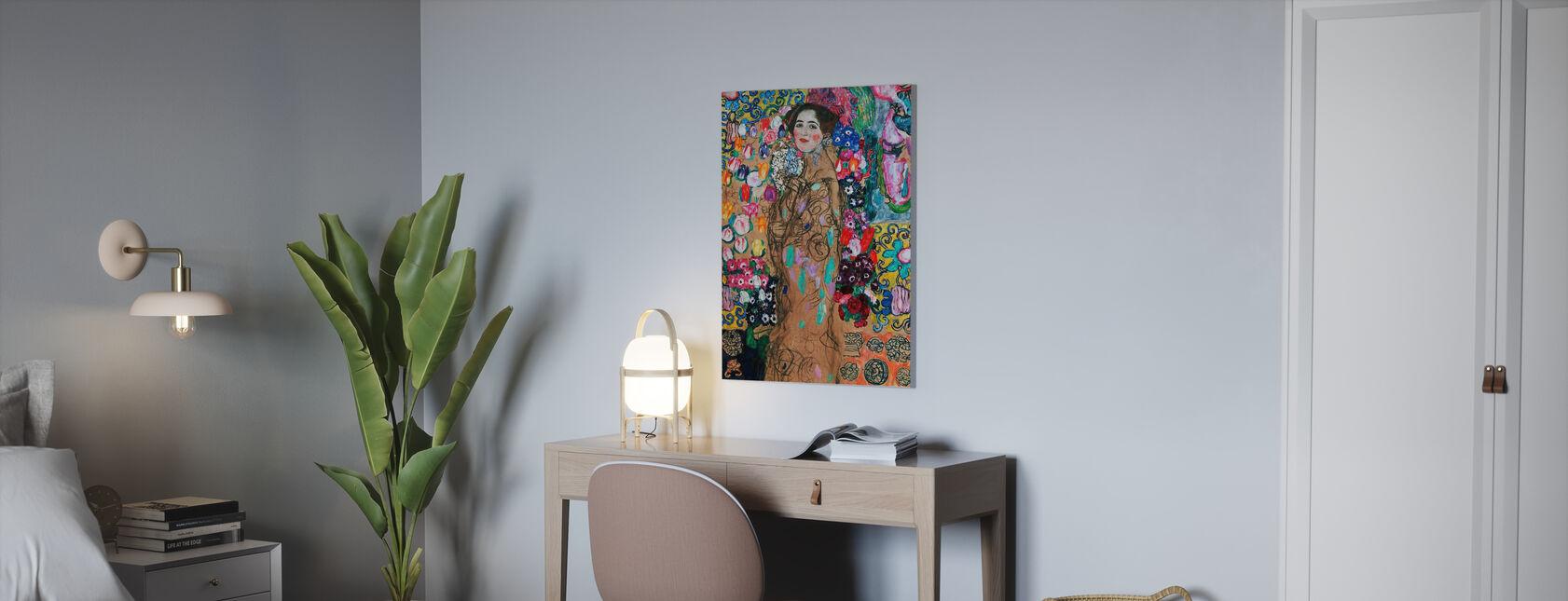 Portrett Av Maria Munk - Infographics - Lerretsbilde - Kontor