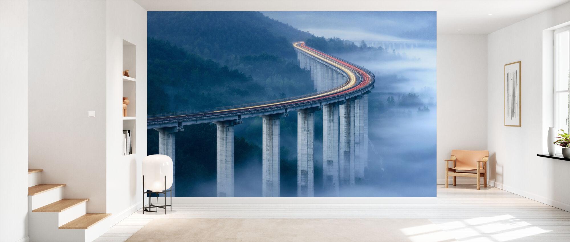 The Pietrasecca Viaduct - Wallpaper - Hallway
