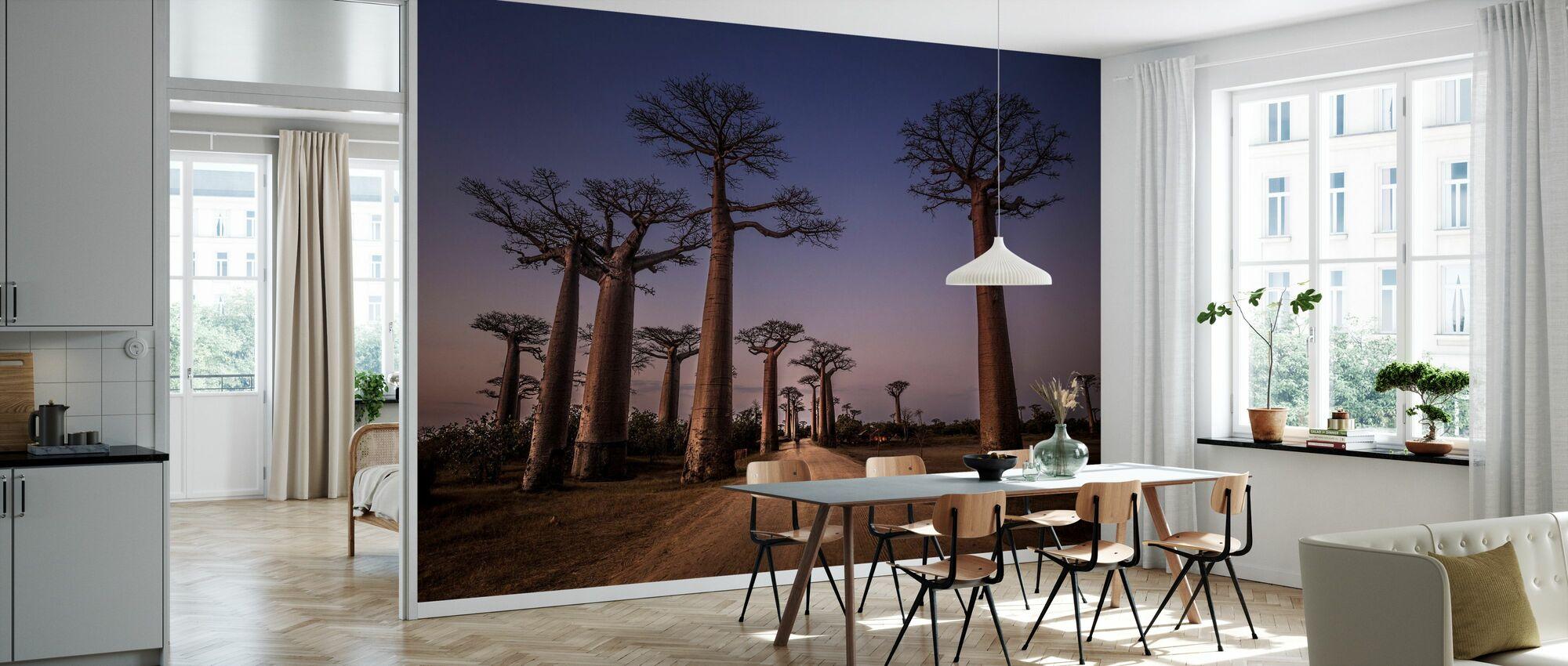 Alle Ace des Baobabs - Tapete - Küchen