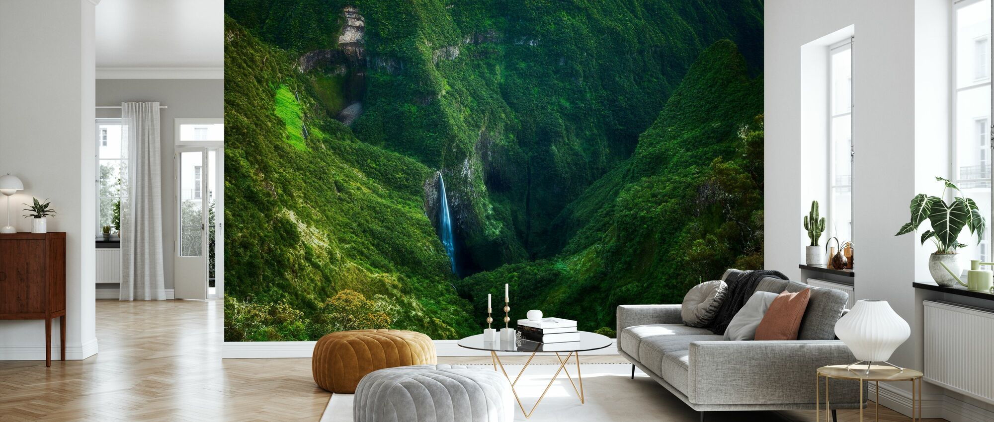 Iron Hole - Wallpaper - Living Room