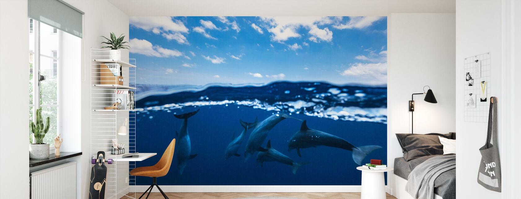 Between Air and Water - Wallpaper - Kids Room