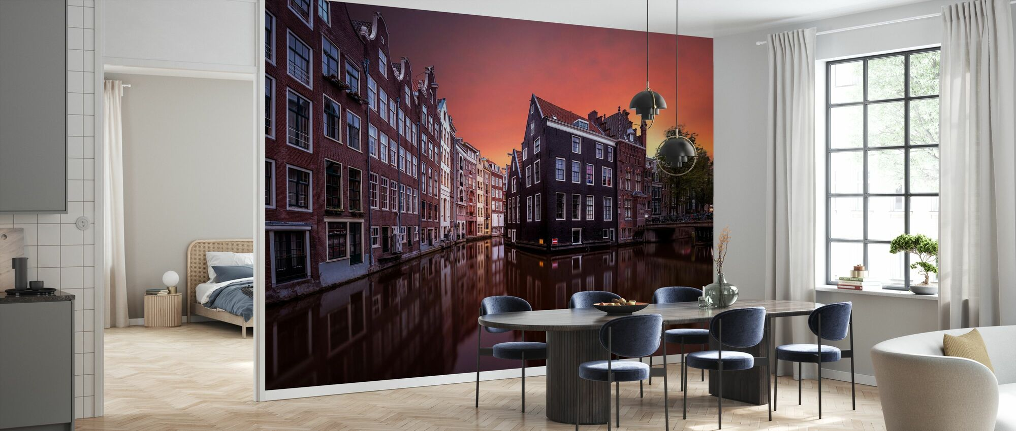 Amsterdam Dawn - Wallpaper - Kitchen