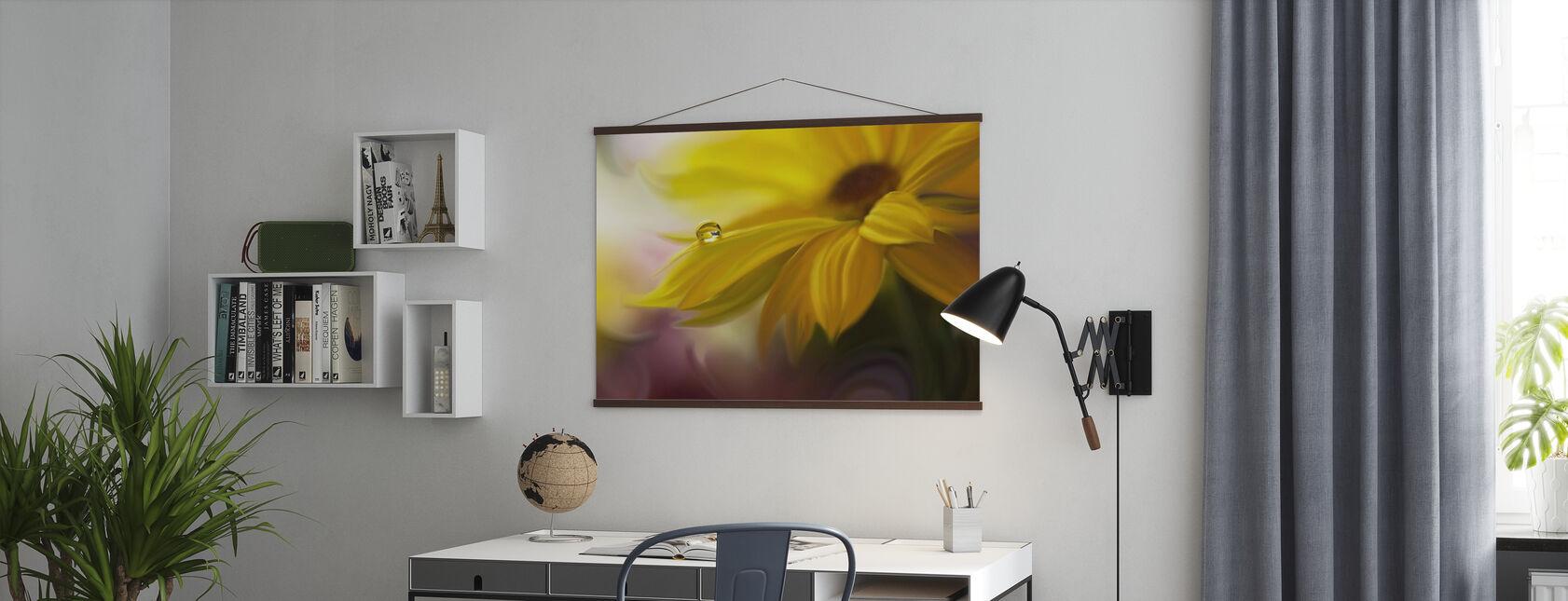 Solstråle - Plakat - Kontor
