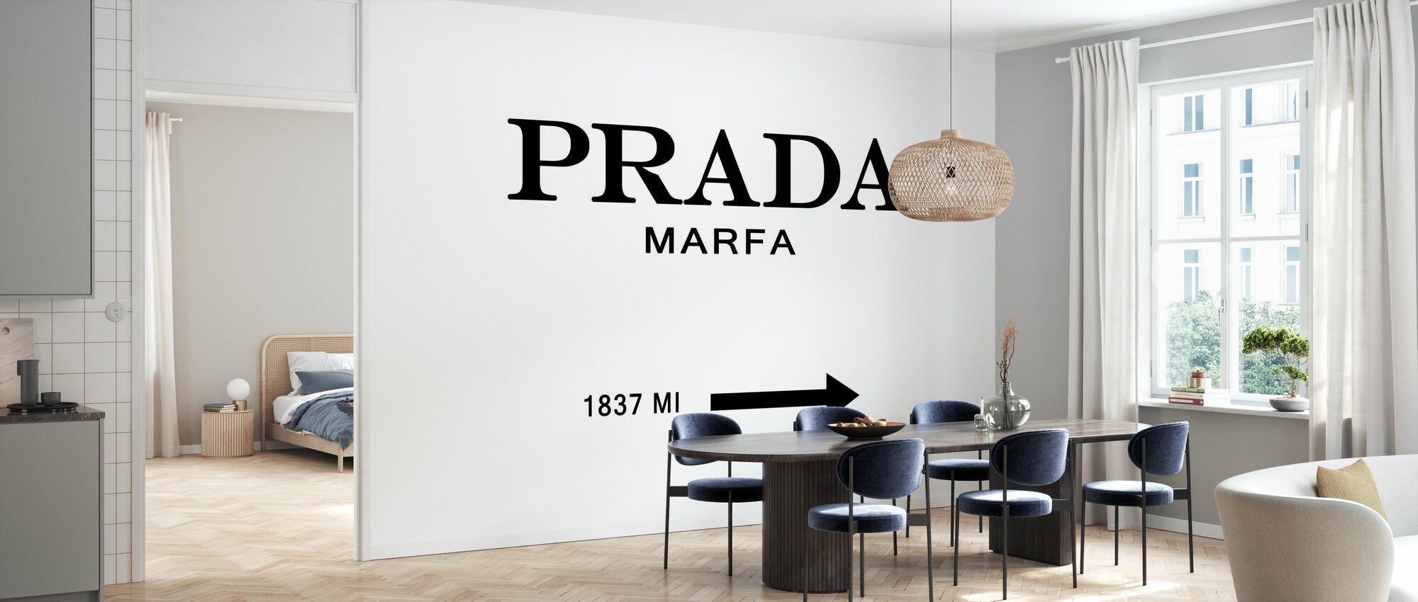 Prada Marfa - Tapeta - Kuchnia