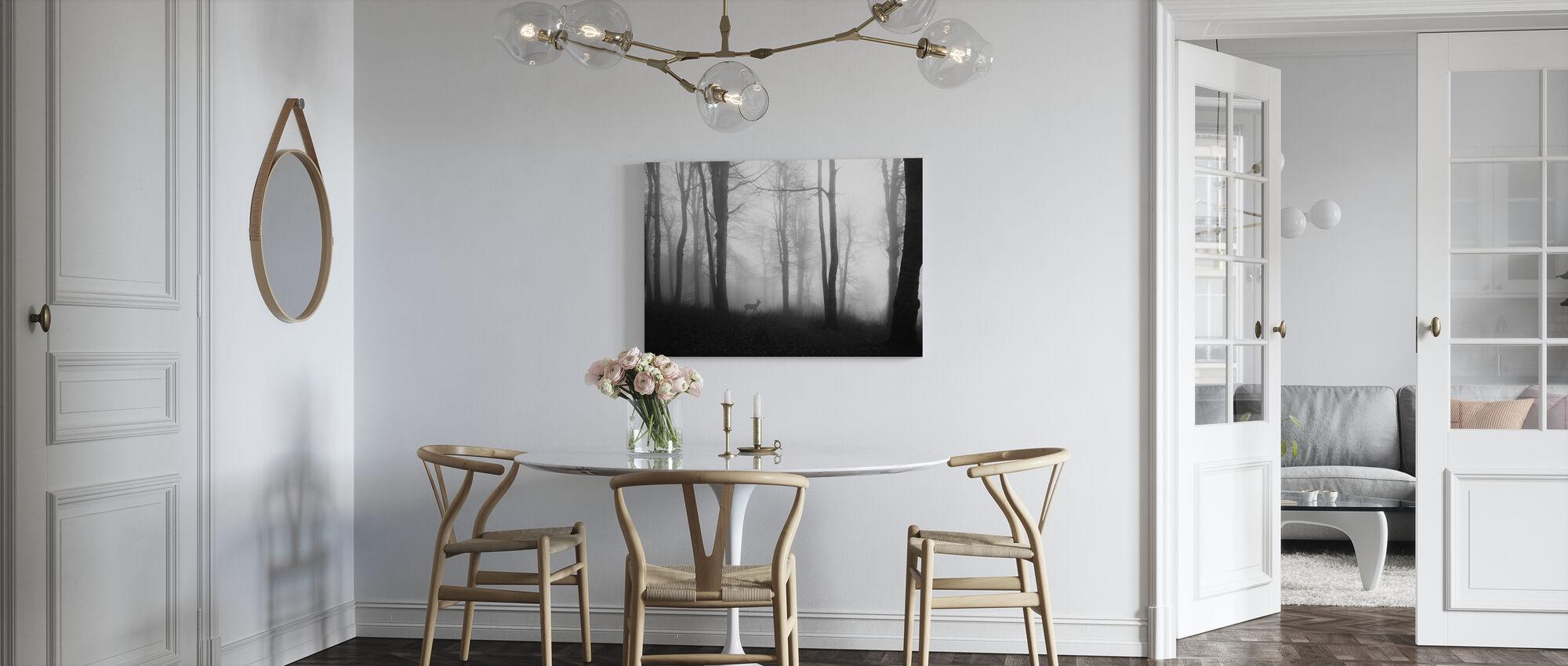 Skog - Lerretsbilde - Kjøkken
