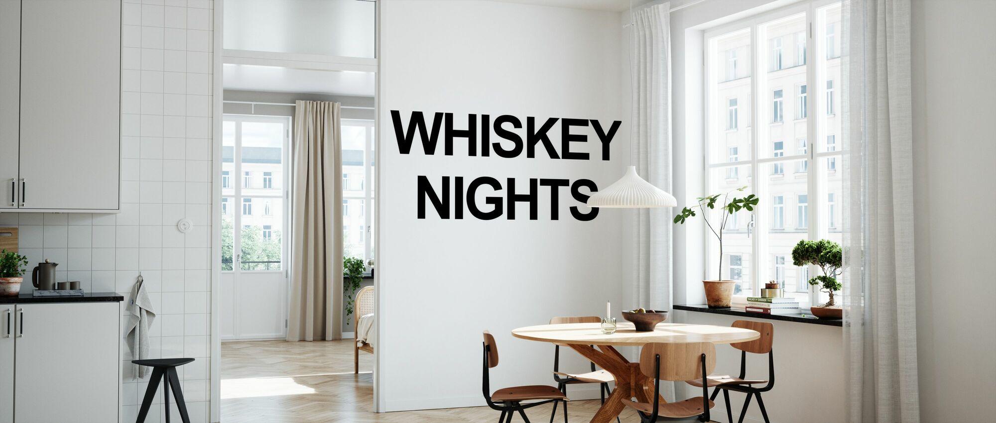 Whiskey Nights Betaalbaar Fotobehang Photowall